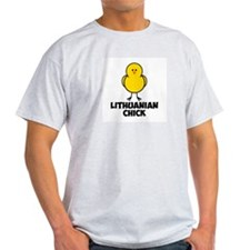 Lithuanian Chick T-Shirt