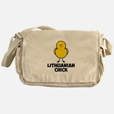 Lithuanian Chick Messenger Bag