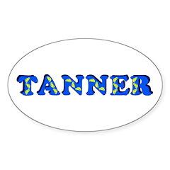 Tanner Sticker (Oval)