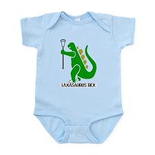 Lacrosse Laxasaurus Rex Infant Bodysuit