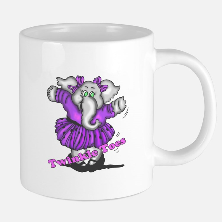Dancing Elephant Mugs