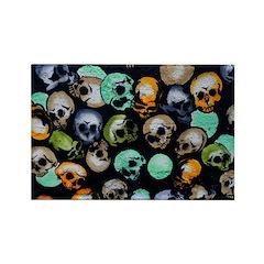 .stella's skulls. Rectangle Magnet