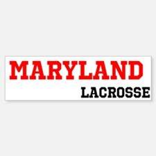 Maryland Lacrosse Bumper Bumper Sticker