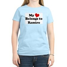 My Heart: Ramiro Women's Pink T-Shirt