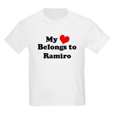 My Heart: Ramiro Kids T-Shirt