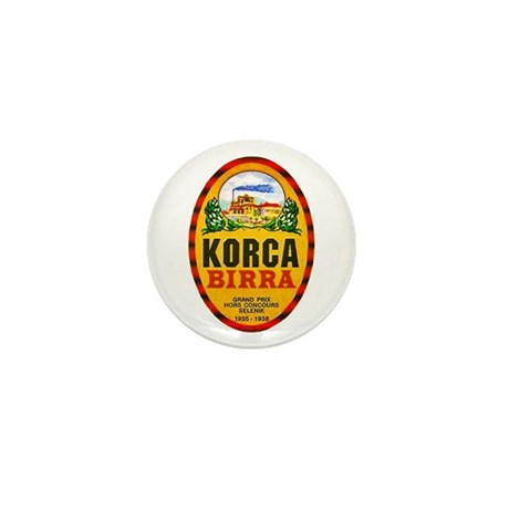 Albania Beer Label 1 Mini Button (100 pack)