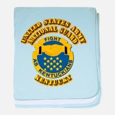 Army National Guard - Kentucky baby blanket