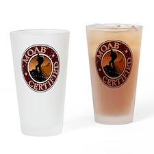 Moab Certified - Guy Hiker Drinking Glass