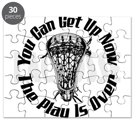 Lacrosse Plays Over bkg Puzzle