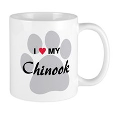 I Love My Chinook Mug