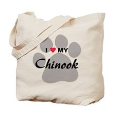 I Love My Chinook Tote Bag