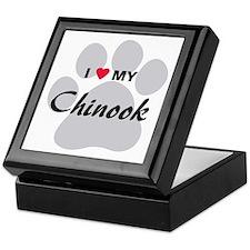 I Love My Chinook Keepsake Box