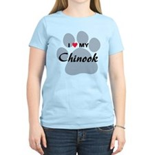 I Love My Chinook T-Shirt