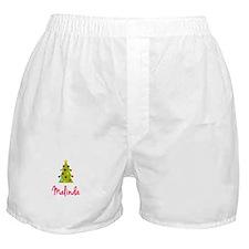 Christmas Tree Malinda Boxer Shorts
