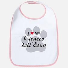 Love My Cirneco dell'Etna Bib