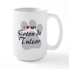 I Love My Coton De Tulear Mug