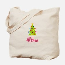 Christmas Tree Althea Tote Bag