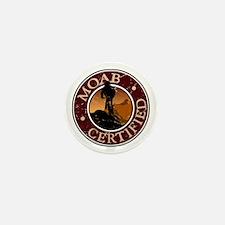 Moab Certified - Mountain Biker Mini Button