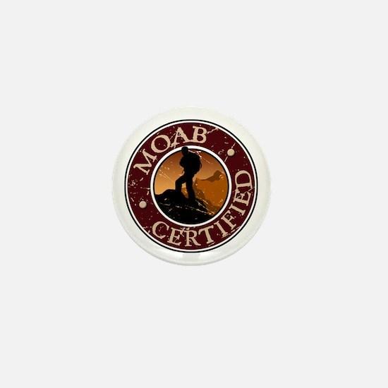 Moab Certified - Guy Hiker Mini Button