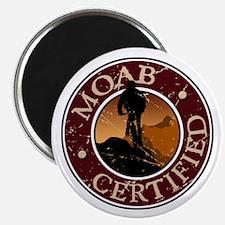 Moab Certified - Mountain Biker Magnet