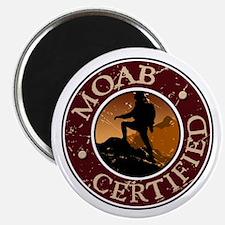 Moab Certified - Girl Hiker Magnet