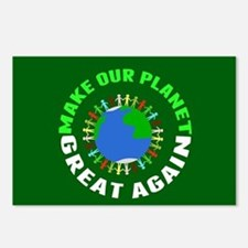 Make Planet Great Postcards (Package of 8)