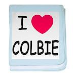 I heart colbie baby blanket