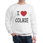 I heart colbie Sweatshirt