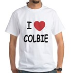 I heart colbie White T-Shirt