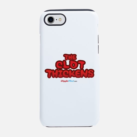 Clot Thickens 04 iPhone 7 Tough Case