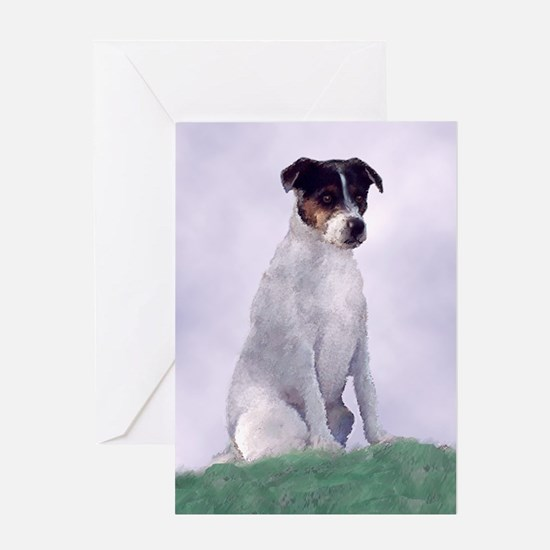 Jack Russel Cosby Greeting Cards