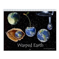 Warped Earth Wall Calendar