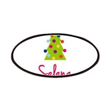 Christmas Tree Selena Patches