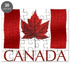 Canada Flag Puzzle Canada Souvenir Games