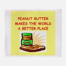 peanut butter Throw Blanket