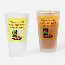 peanut butter Drinking Glass