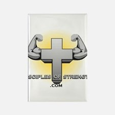 Cute Jesus and disciples Rectangle Magnet