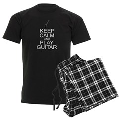 Keep Calm Play Guitar (Electric) Pajamas