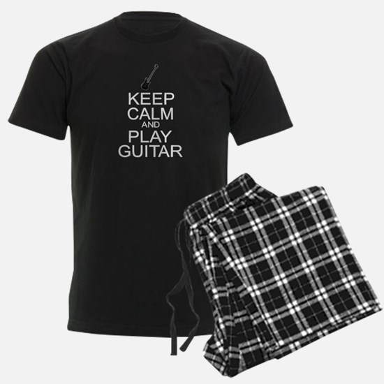 Keep Calm Play Guitar (Electric) pajamas