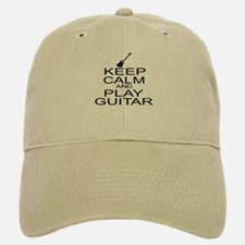 Keep Calm Play Guitar (Electric) Baseball Baseball Cap