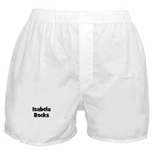 Isabela Rocks Boxer Shorts
