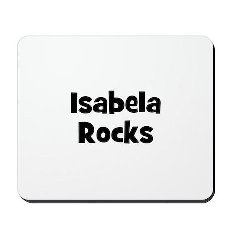Isabela Rocks Mousepad