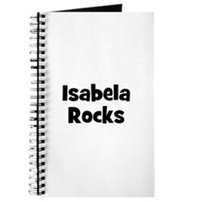 Isabela Rocks Journal