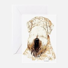 Soft Coated Wheaten Terrier Greeting Cards (Packag