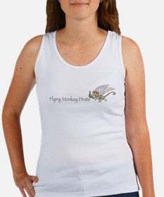 Flying Monkey Pirate Women's Tank Top