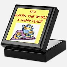 tea Keepsake Box
