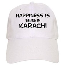 Happiness is Karachi Baseball Cap