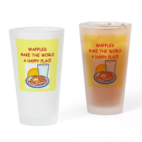 waffles Drinking Glass