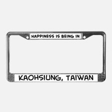 Happiness is Kaohsiung License Plate Frame