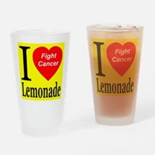 Fight Cancer Drinking Glass